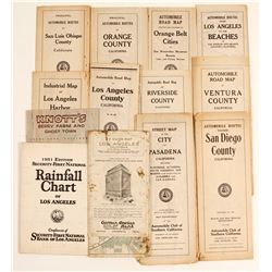 Southern CA Ephemera Assortment  (64330)