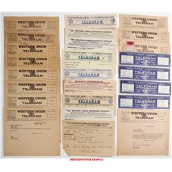 Van Camp Hardware Telegram Collection  (64076)