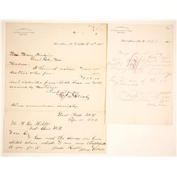 Letter from J.H. McKnight & Co., Post & Indian Trader  (64369)