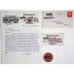 Mitchell & Lewis Co. Correspondence  (64225)