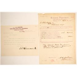 Wyoming Legal Document and Treasury Dept. Draft   (65065)