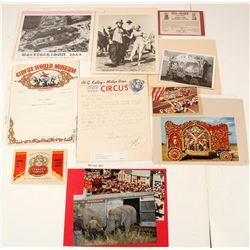 Circus Ephemera  (60451)