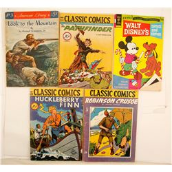 Vintage Comic Books (5)  (87164)