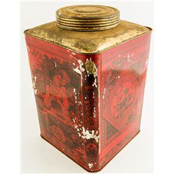 Vintage Red Tin  (48335)