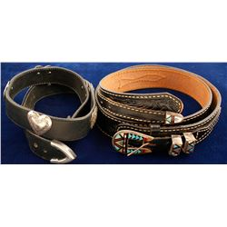 Two Native American Belts  (75017)