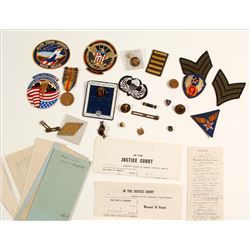 US Military Medals, Patches and Pins  (61371)