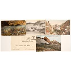 Alaska Mining Postcards  (63835)