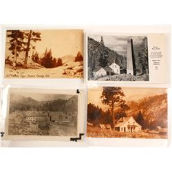 Silver Mt. and Alpine County Area Postcards (4)  (56578)