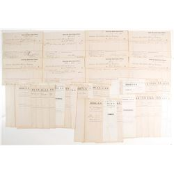 Keystone Consolidated Mining Receipt Archive  (69039)