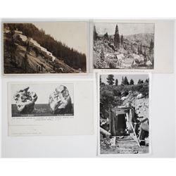 Plumas Mines Postcards   (63843)