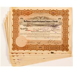 MacNamara Crescent Development Company of Nevada Certificates  (52272)
