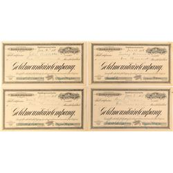 Goldmountain Company Stock Certificates--Graham Hardy Fantasy Pieces  (53827)