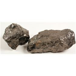 Anthracite Coal and Sulfur Specimens  (80832)