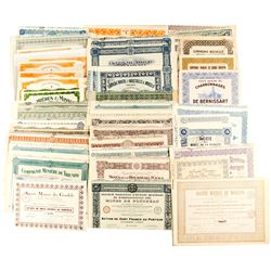 Foreign Collection of Mining Bond Certificates/Puerto Rico Water Resources Authority Bond Certificat