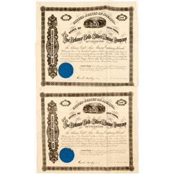 Two Reliance Gold & Silver Mining Co. Bonds  (55073)