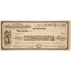 Cornucopia Consolidated Stock Certificate  (60234)