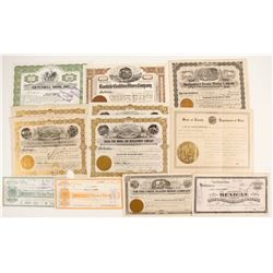 Nevada Mining Stock Certificate Collection  (87317)