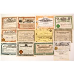 Northern Nevada Mining Stock Certificates  (87319)