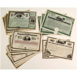 Trenton Street Railway Company Stock Certificates   (86361)