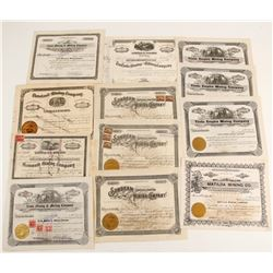 Tintic Mining District Stock Certificates  (87322)