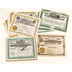 Alta and Park City Mining Stock Certificates  (87323)