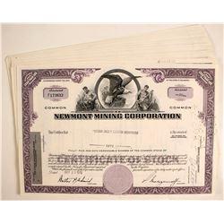 Newmont Mining Stocks   (80817)
