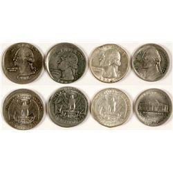 Error Quarters and Nickel  (71025)