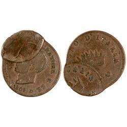 Italian Error Coin  (74075)
