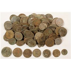 Lot of Spanish Treasure  (75507)