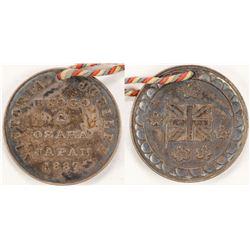 Queen Victoria Golden Jubilee Medallion  (73072)