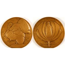 Abundance - Albert Laessle - Society of Medalists #10  (79450)