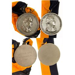 ANA Prestigious Goodfellow Silver Medal with Ribbon  (43325)