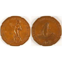Boy Fishing - Society of Medalists #9  (79476)