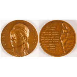 Brigitte Bardot Medal  (79465)