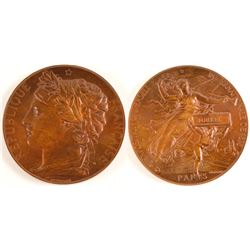Commemorative Medallion (Bronze)  (79129)