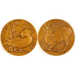 Conserve Wildlife - Society of Medalists #18  (79471)