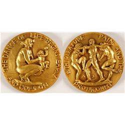 Dance of Life - Society of Medalists #17  (79452)
