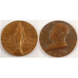 Eisenhower Inaugural Bronze Medal  (59749)
