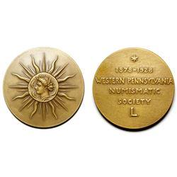 Western Pennsylvania Numismatic Society Medal  (81006)