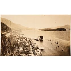 Ketchican, AK Harbor Photo  (65031)