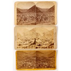 Georgetown, CO Stereoviews (3 count)  (53227)