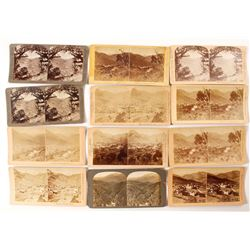 Bird's Eye Manitou CO Stereoviews (12 count)  (53230)