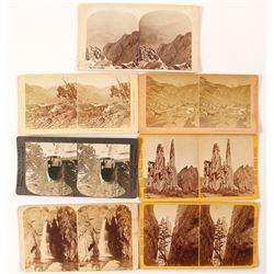 Manitou CO Scenery Stereoviews (7 count)  (53231)