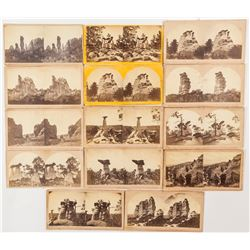 Monument Park CO Stereoviews (14 count)  (53248)