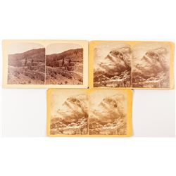 Gurnsey Colorado Stereoviews (3 count)  (53257)