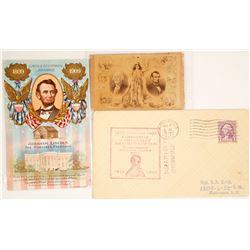 Abraham Lincoln Card Set (3)  (63178)
