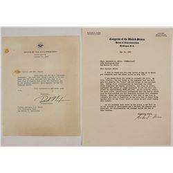 Richard Nixon Letters (2)  (59729)