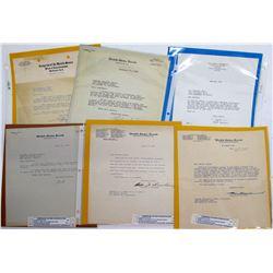 U.S. Senate & Other Political Letterheads  (66070)