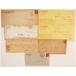 California Postal Covers (7)  (65059)