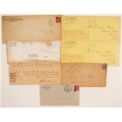 California Postal Covers (7)  (65059)